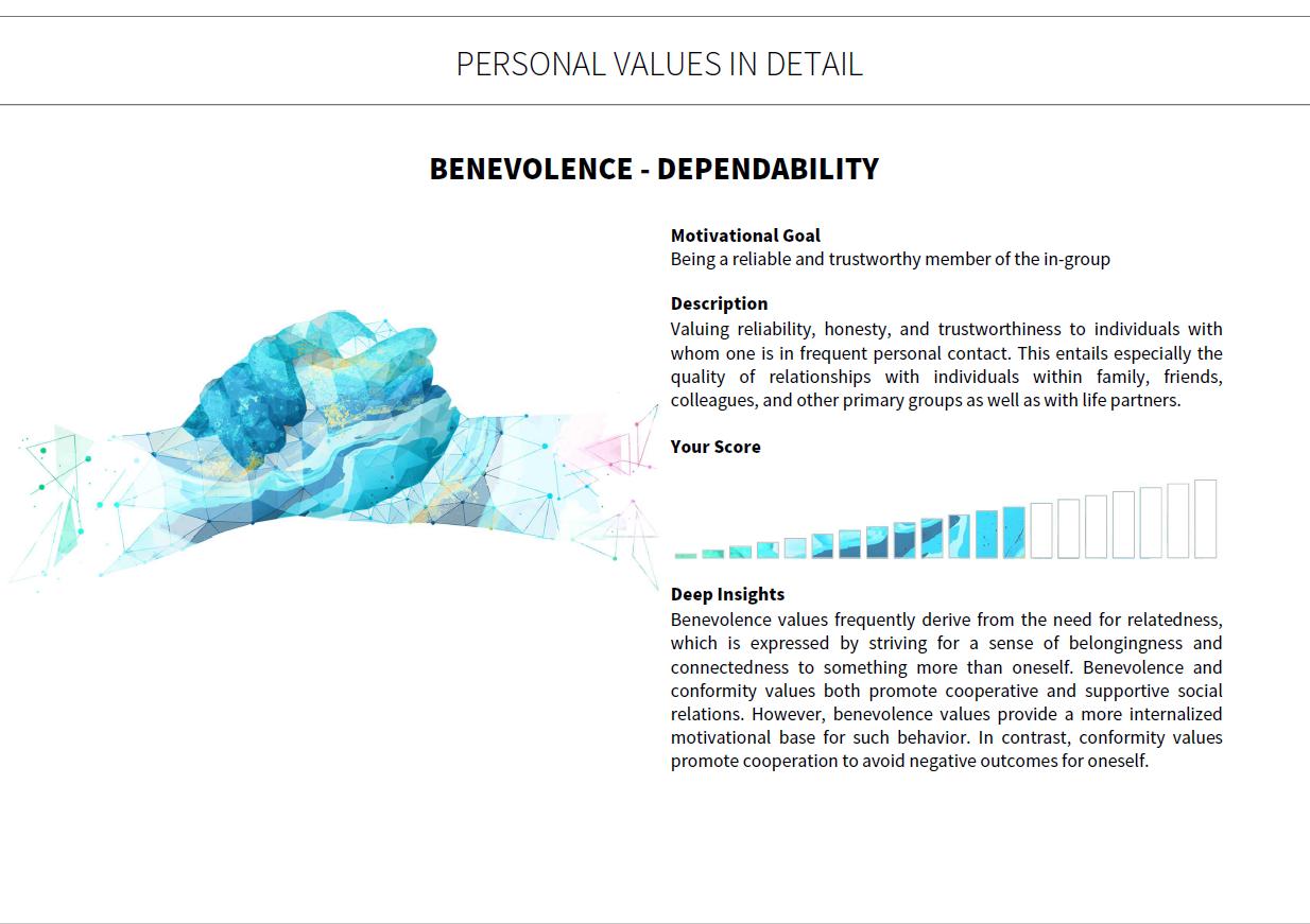 Benevolence Dependability